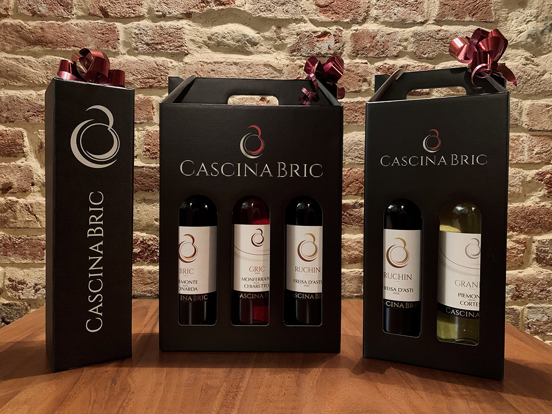 Scatole regalo Cascina Bric